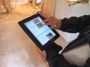 iPadでデータを見る