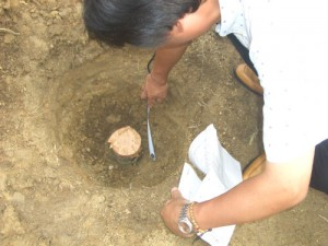 地盤改良検査(杭の検査)