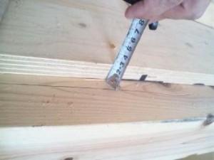 構造用合板の厚み